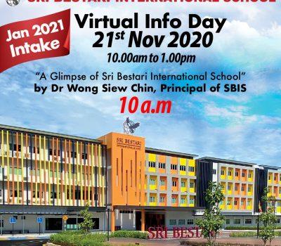 Virtual Info Day 21 Nov 2020